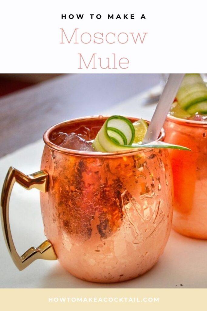 Moscow Mule in a Copper Mug