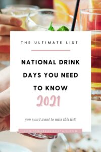 National Drink Days