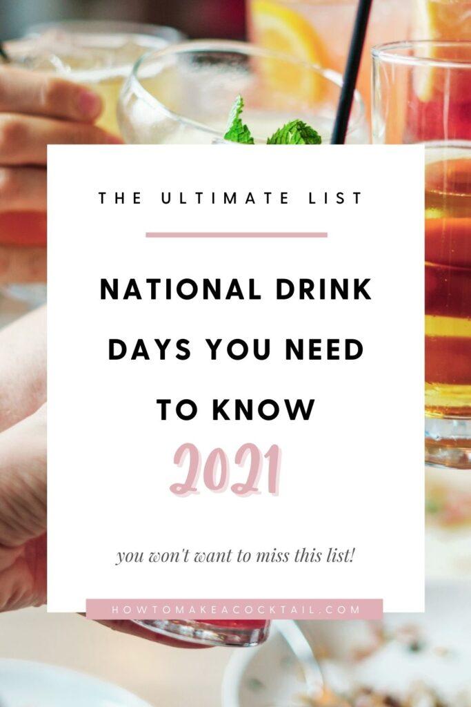 National Drink Days